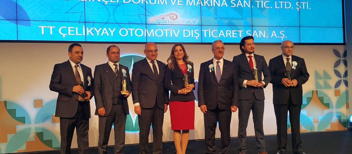 Мы получили награду Metallic Star of Export